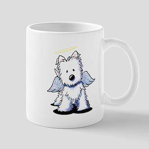 Westie Angel Mug