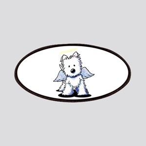 Westie Angel Patches