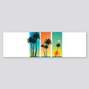 TROPICALevening Bumper Sticker