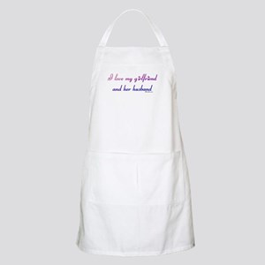 I love my girlfriend and her  BBQ Apron