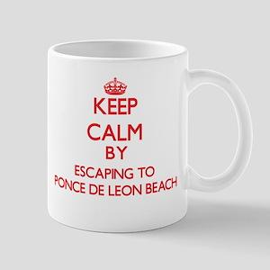 Keep calm by escaping to Ponce De Leon Beach Flori