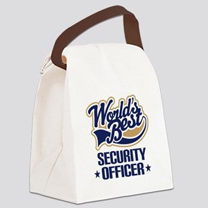 Security officer Canvas Lunch Bag