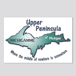 Michigamme U.P. Postcards (Package of 8)