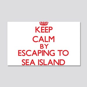 Keep calm by escaping to Sea Island Georgia Wall D