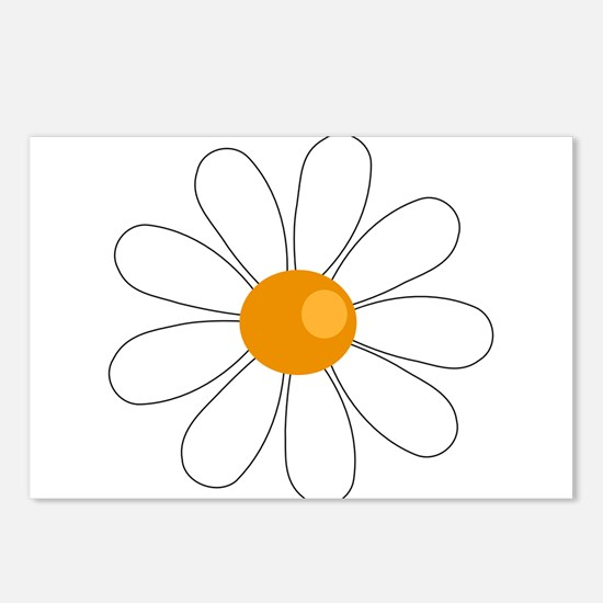 DAISY DRAWING Postcards (Package of 8)