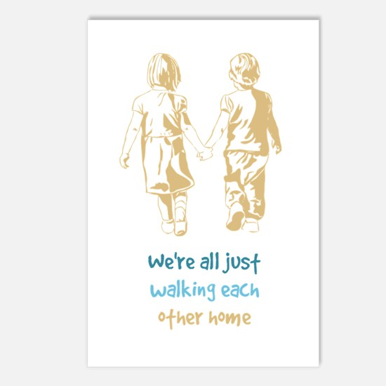Were All Just Walking Postcards (package Of 8)