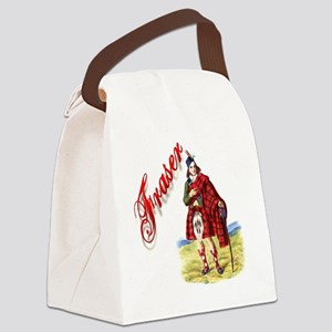 Clan Fraser Canvas Lunch Bag