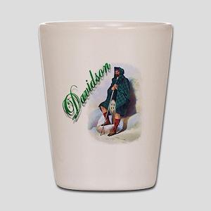 Clan Davidson Shot Glass