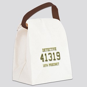 Badge Number Canvas Lunch Bag