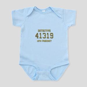 Badge Number Infant Bodysuit