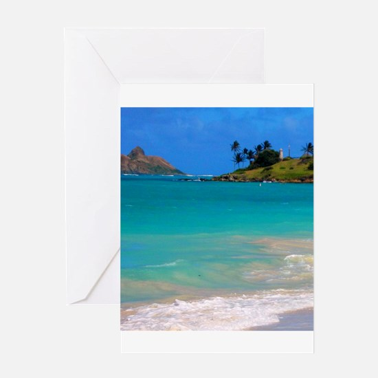 Kailua Beach Greeting Cards