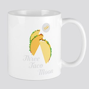 Three Taco Moon Mugs