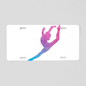 Leap Silhoette Aluminum License Plate
