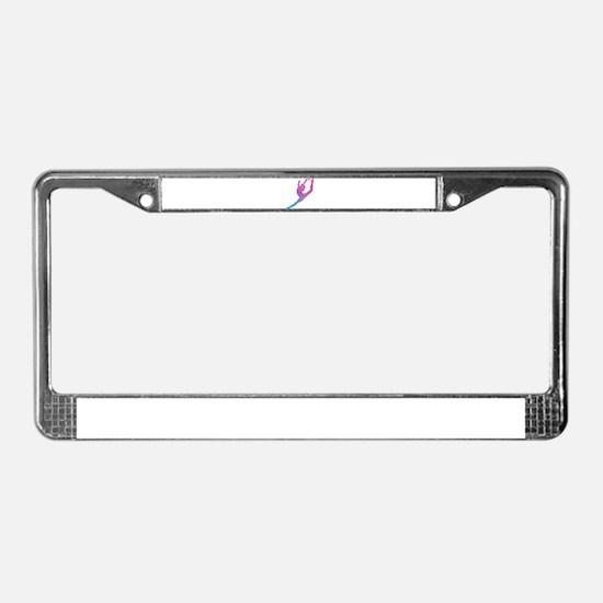 Leap Silhoette License Plate Frame