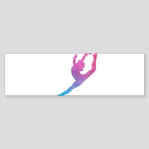 Leap Silhoette Bumper Sticker
