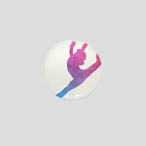 Leap Silhoette Mini Button