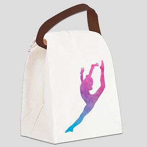 Leap Silhoette Canvas Lunch Bag