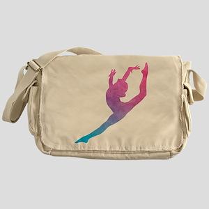 Leap Silhoette Messenger Bag
