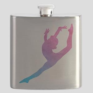 Leap Silhoette Flask