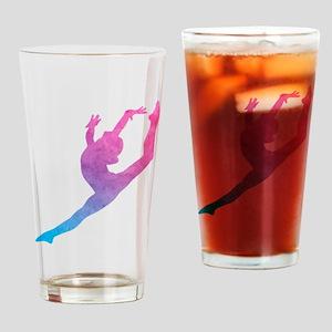 Leap Silhoette Drinking Glass