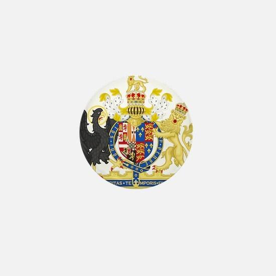 England Coat of Arms 1554-1558 Mini Button