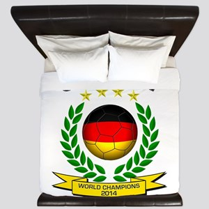 Germany World Champions 2014 King Duvet