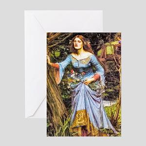 Waterhouse: Ophelia Greeting Card