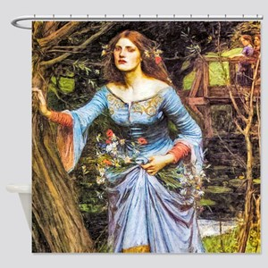 Waterhouse: Ophelia Shower Curtain
