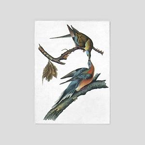 Passenger Pigeon 5'x7'area Rug