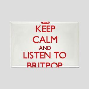 Keep calm and listen to BRITPOP Magnets