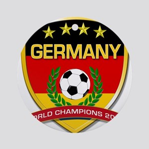 Germany World Champions 2014 Ornament (Round)