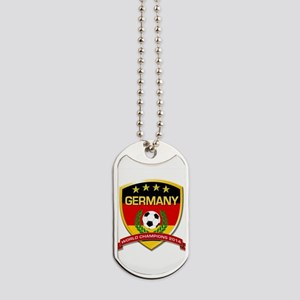Germany World Champions 2014 Dog Tags