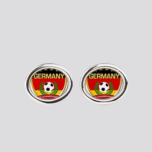Germany World Champions 2014 Oval Cufflinks