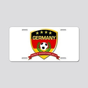 Germany World Champions 2014 Aluminum License Plat
