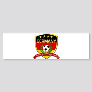 Germany World Champions 2014 Bumper Sticker
