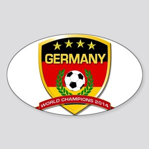 Germany World Champions 2014 Sticker