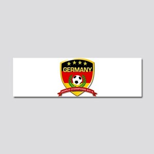 Germany World Champions 2014 Car Magnet 10 x 3