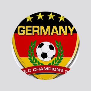 "Germany World Champions 2014 3.5"" Button"