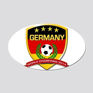 Germany World Champions 2014 Wall Decal