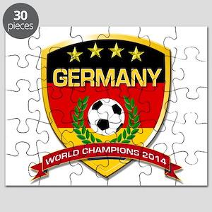 Germany World Champions 2014 Puzzle