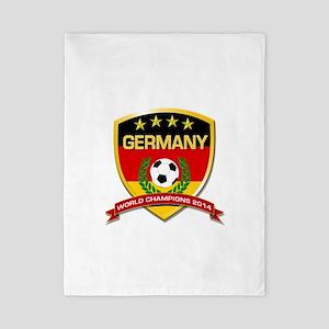 Germany World Champions 2014 Twin Duvet