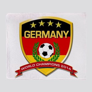 Germany World Champions 2014 Throw Blanket