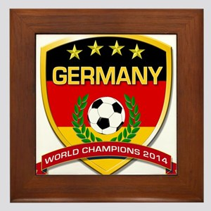 Germany World Champions 2014 Framed Tile