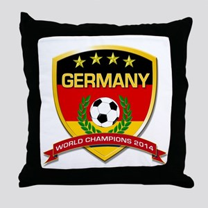 Germany World Champions 2014 Throw Pillow