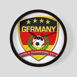 Germany World Champions 2014 Wall Clock