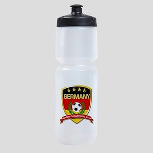 Germany World Champions 2014 Sports Bottle