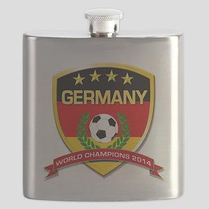 Germany World Champions 2014 Flask