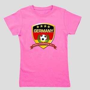 Germany World Champions 2014 Girl's Tee