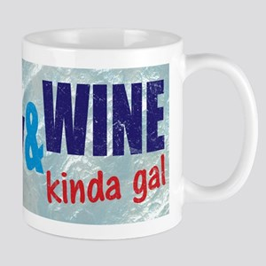 Im A Hockey Wine Kinda Gal Mugs