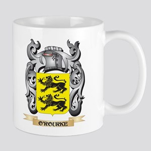 O'Rourke Coat of Arms - Family Crest Mugs